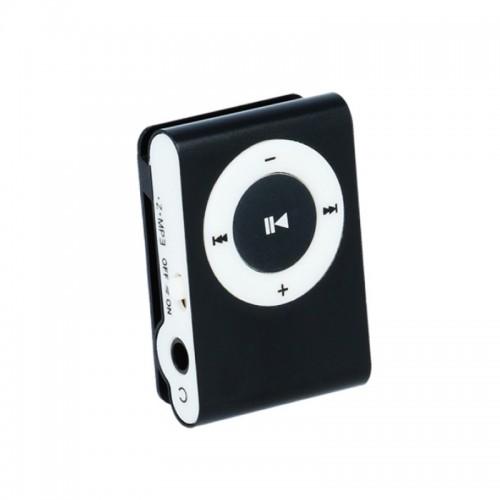 Mp3 Player Setty με Ακουστικά (Μαύρο)
