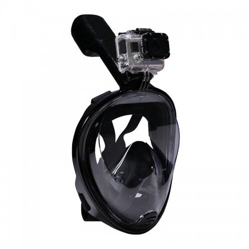 Μάσκα Κατάδυσης Full Face με αναπνευστήρα (Μαύρο)