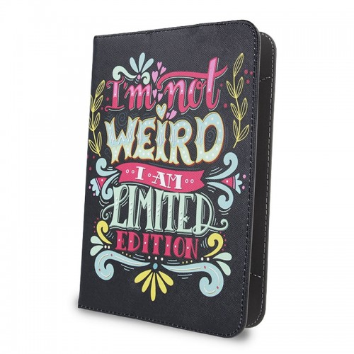 Θήκη Tablet I'm Not Weird Flip Cover για Universal 7-8' (Design)