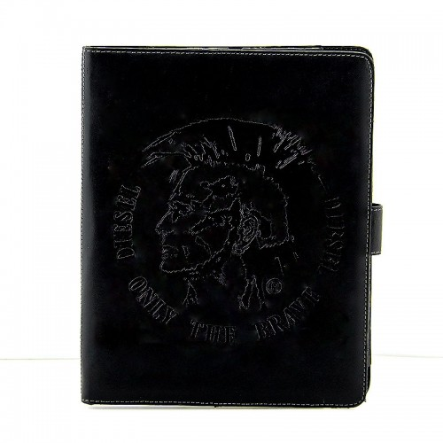 Θήκη Diesel Only The Brave Leather Flip Cover για Universal 10'' (Μαύρο)