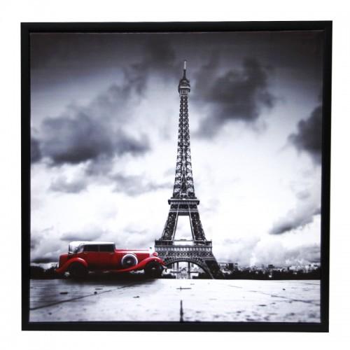 Διακοσμητικό Κάδρο 59x59 Paris Design 3 (Design)