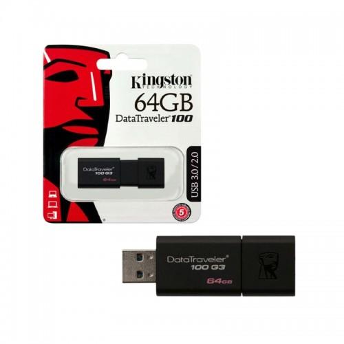 Kingston DataTraveler 100 G3 64GB USB Flash 3.0