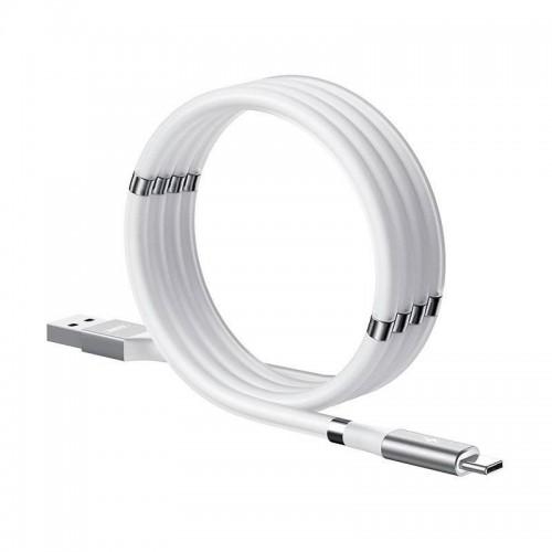 Μαγνητικό Καλώδιο Φόρτισης Remax USB to Type-C RC-125a (Άσπρο)