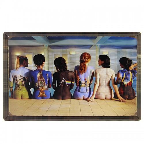 Μεταλλική Διακοσμητική Πινακίδα Τοίχου Body Paint 40X60