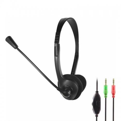 Ακουστικά Headset με Μικρόφωνο OAKORN OK-900 (Μαύρο)