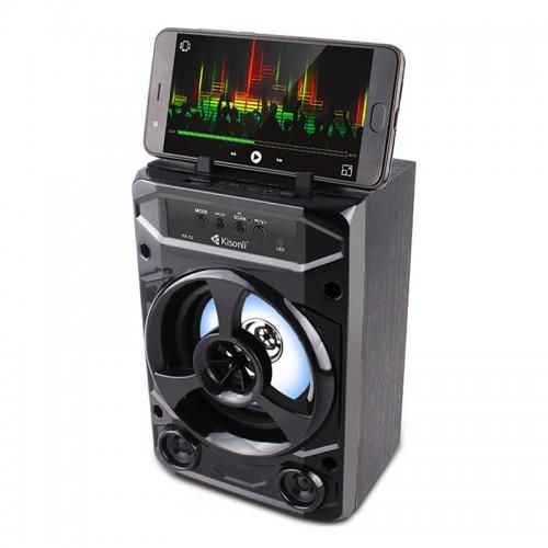Ασύρματο Ηχείο Bluetooth Kisonli ΚΚ-02 (Μαύρο)