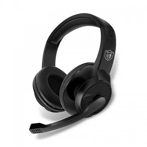 Gaming Ενσύρματα Headphones AKZ GM-001 με Μικρόφωνο (Μαύρο)