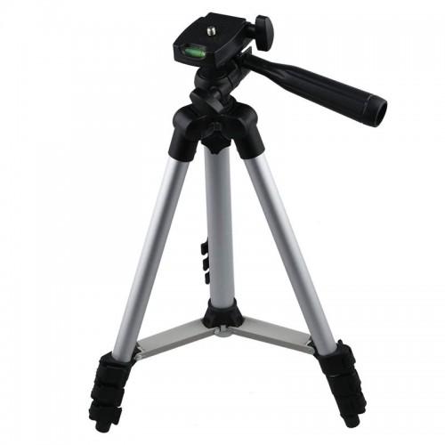 Φορητό Πτυσσόμενο Τρίποδο 3110 για Φωτογραφικές Μηχανές και Κινητά (Μαύρο)