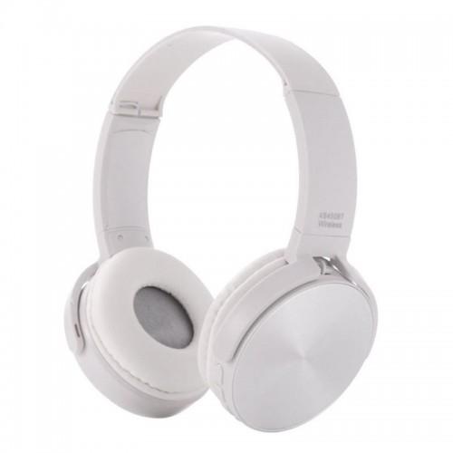 Ασύρματα Ακουστικά Bluetooth 450BT με Ενσωματωμένο Μικρόφωνο (Άσπρο)
