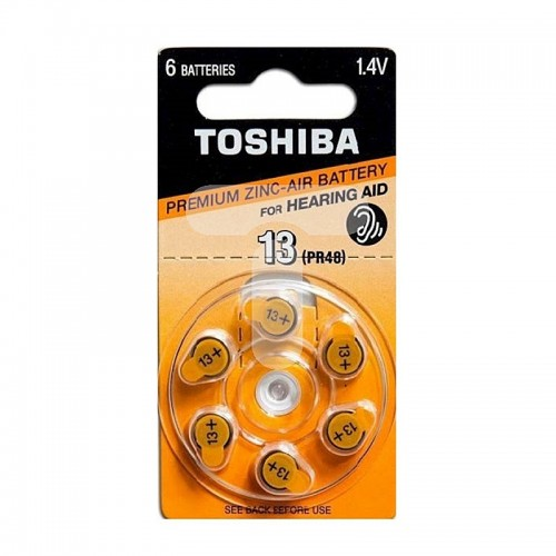 Μπαταρίες για Ακουστικό Βαρηκοΐας Toshiba 13/PR48 (Ασημί)