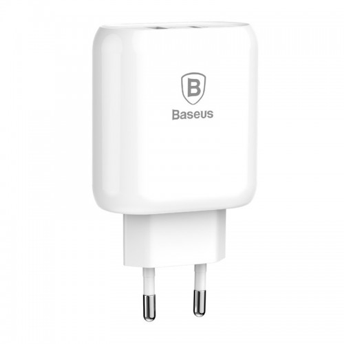 Φορτιστής Baseus Bojure CCALL-BG02 Type C PD και USB 1A 32W (Άσπρο)