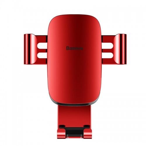 Βάση Στήριξης Αεραγωγού Αυτοκινήτου Baseus Metal Age Gravity SUYL-D09 (Κόκκινο)