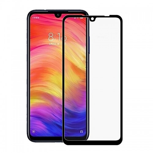 Tempered Glass Powertech 5D TGC-0268 για Xiaomi Redmi Note 7 (Black)