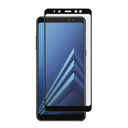 Tempered Glass Powertech 5D TGC-0294 για Samsung Galaxy A8 2018 (Black)
