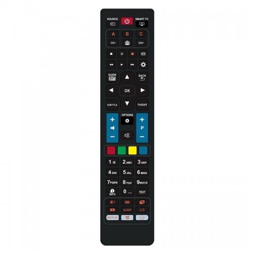 Τηλεχειριστήριο Powertech PT-832 για Τηλεοράσεις Philips (Μαύρο)