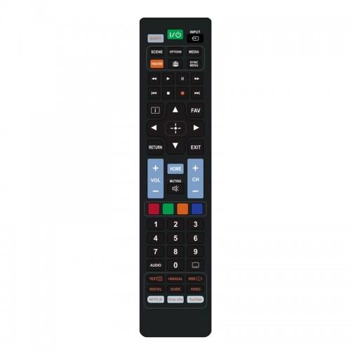Τηλεχειριστήριο Powertech PT-833 για Τηλεοράσεις Sony (Μαύρο)