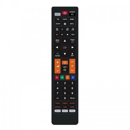 Τηλεχειριστήριο Powertech PT-834 για Τηλεοράσεις Samsung (Μαύρο)