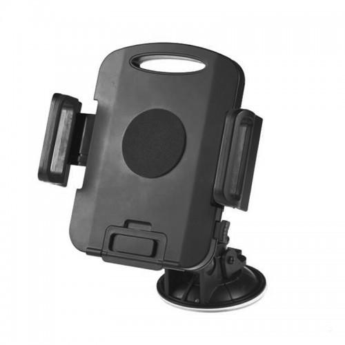 Βάση Στήριξης Αυτοκινήτου με Βεντούζα για Tablet 7 έως 10'' με Περιστροφή 360° (Μαύρο)