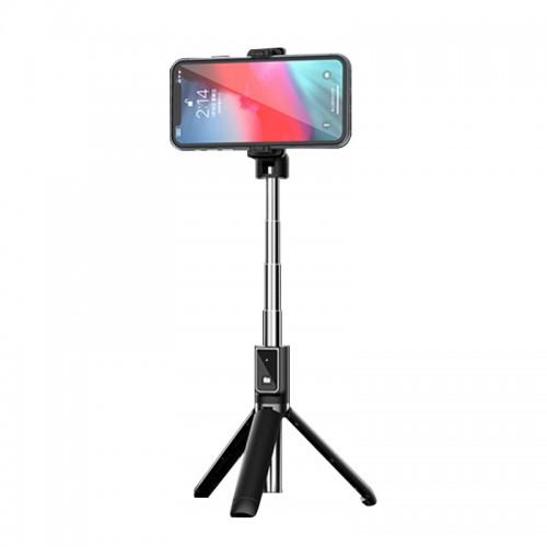 Mini Τρίποδο και Selfie Stick P40 με Bluetooth Remote Control (Μαύρο)