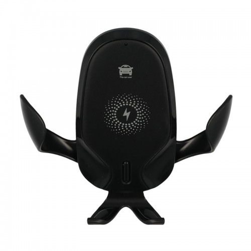 Βάση Στήριξης Αυτοκινήτου για Κινητά με Ασύρματη Φόρτιση CF98 (Μαύρο)