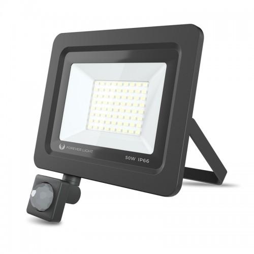 Προβολέας Forever Light LED PROXIM II 50W 6000K IP66 (Μαύρο)