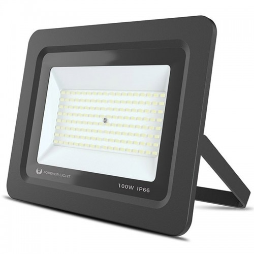 Προβολέας Forever Light LED PROXIM II 100W 6000K IP66 (Μαύρο)