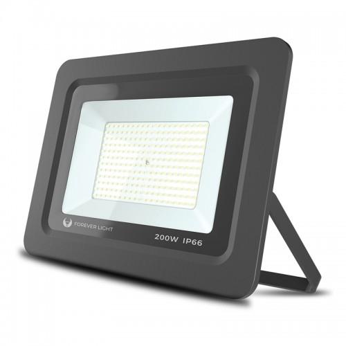Προβολέας Forever Light LED PROXIM II 200W 6000K IP66 (Μαύρο)