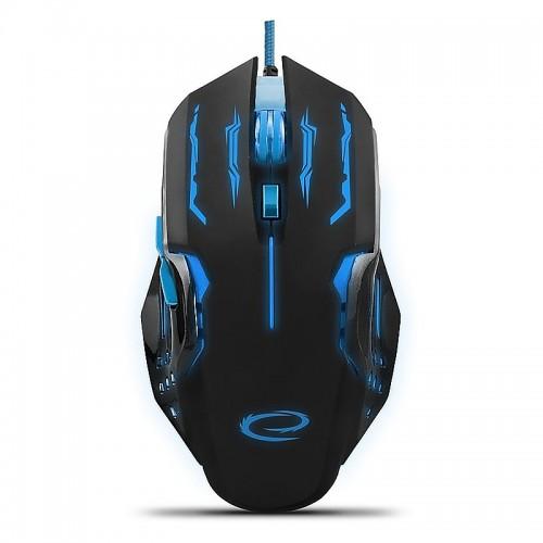 Gaming Ενσύρματο Ποντίκι MX403 Apache EGM403B (Μπλε - Μαύρο)