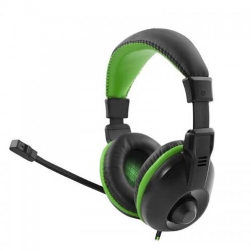 Ακουστικά Gamimg Headset με Μικρόφωνο Esperanza Albatros EGH320 (Μαύρο - Πράσινο)