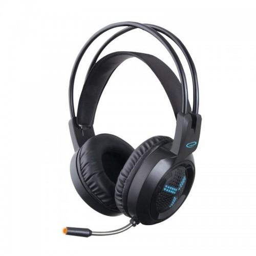 Ακουστικά Gamimg Headset με Μικρόφωνο Esperanza Asgard (Μαύρο)
