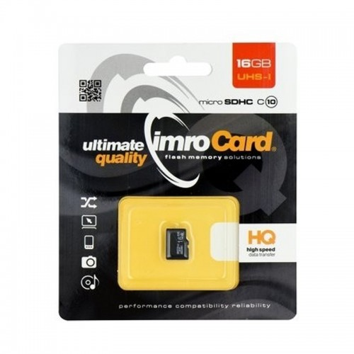 Imro microSDHC Class 10 16GB (Μαύρο)