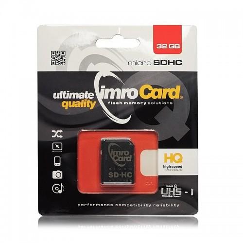 Imro microSDHC 32GB + Adaptor (Design)