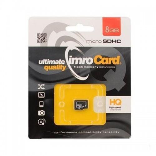 Imro microSDHC Class 10 8GB (Μαύρο)