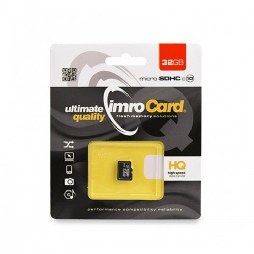 Imro microSDHC Class 10 32GB UHS-I (Μαύρο)