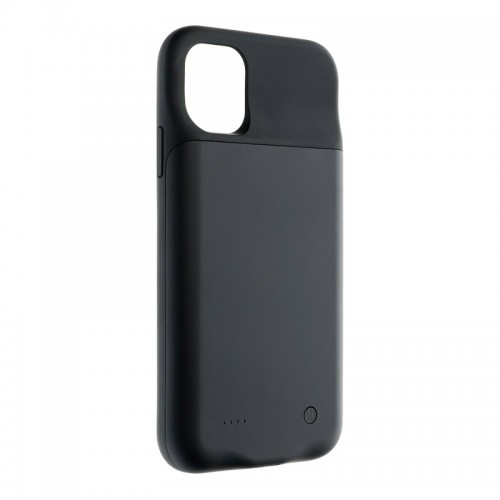 Battery Case Back Cover με Power Bank 4500mAh για iPhone 11 Pro Max (Μαύρο)