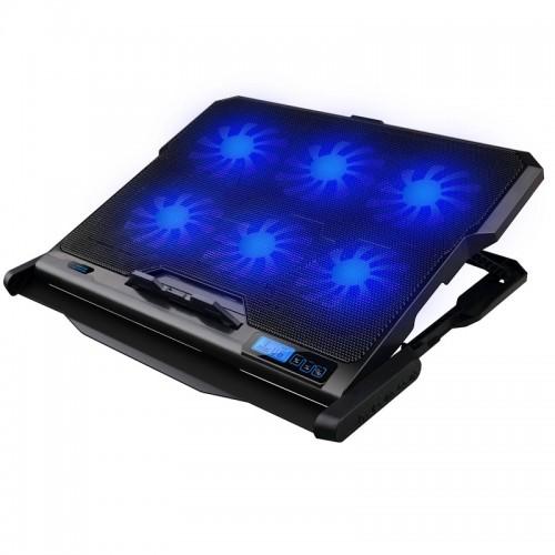 Βάση Στήριξης Omega Cooler Pad OMNCP6F (Μαύρο)