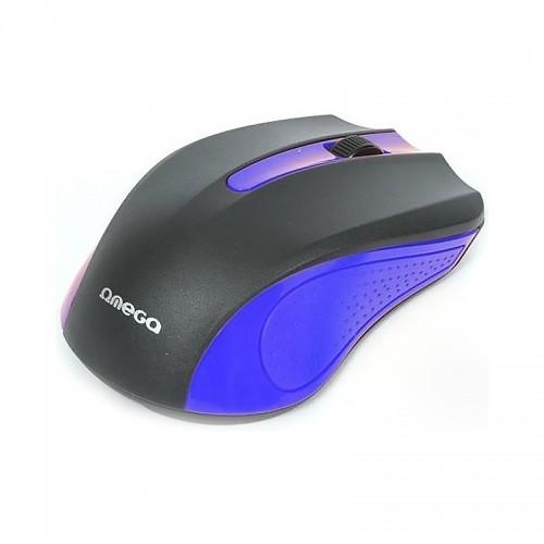 Ενσύρματο Ποντίκι Omega OM05BL (Μπλε)