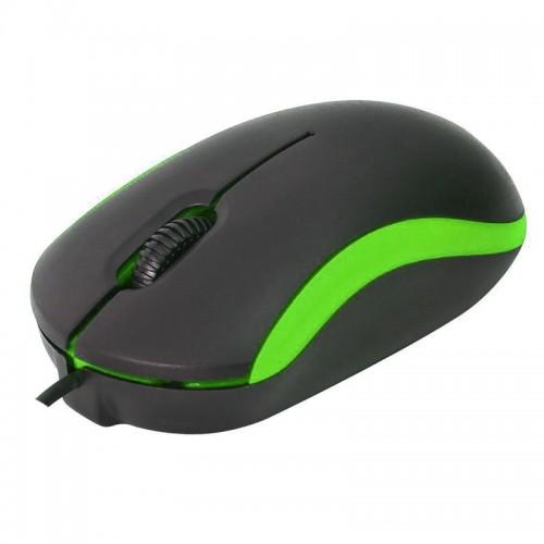 Omega Wired Mouse OMO7VBL (Πράσινο)