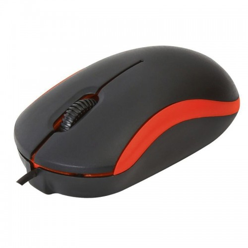 Omega Wired Mouse OMO7VR (Κόκκινο)