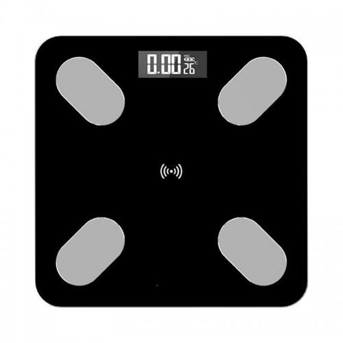 Ηλεκτρονική Ζυγαριά Μπάνιου με Bluetooth B2017 (Μαύρο)