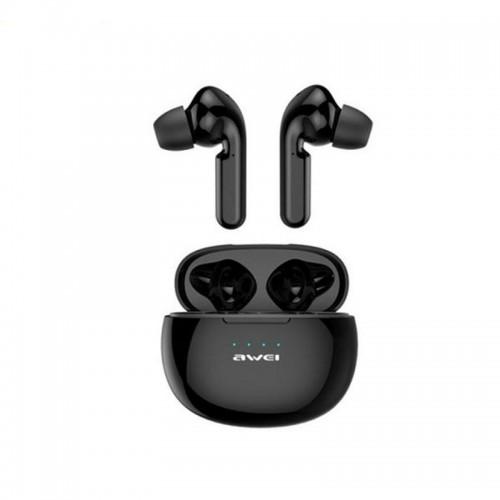 Ακουστικά Bluetooth Awei με Βάση Φόρτισης T15 TWS (Μαύρο)