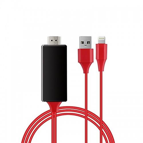 Καλώδιο Σύνδεσης Lightning σε HDMI (Κόκκινο)
