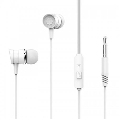 Ακουστικά XO EP20 3.5mm Jack (Άσπρο)