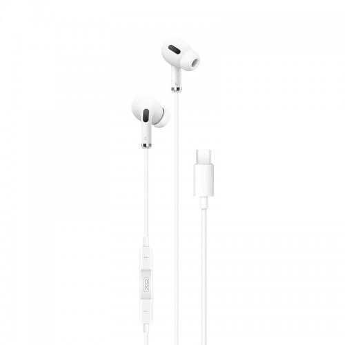 Ακουστικά XO EP23 Type-C (Άσπρο)