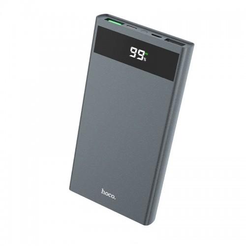 Power Bank Hoco J49 Jewel 10000mAh 2xUSB + USB Type C PD QC3.0 (Γκρι)