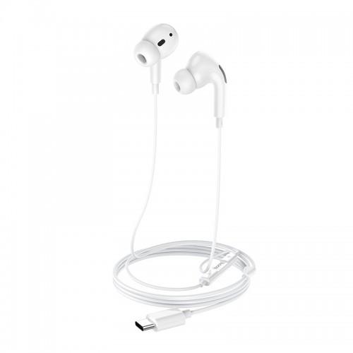 Ενσύρματα Type C Ακουστικά Hoco M1 Pro (Άσπρο)