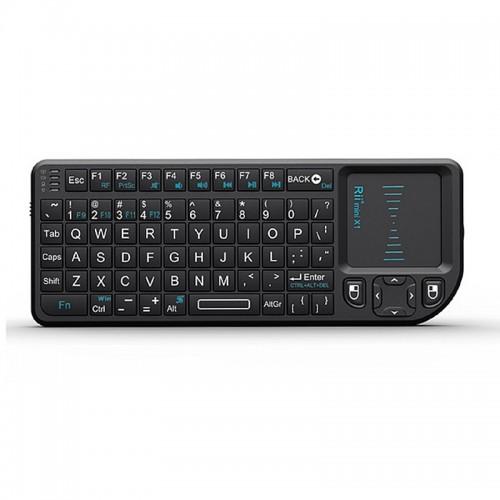Ασύρματο Πληκτρολόγιο Riitek RT-MWK01 Mini με Touchpad (Μαύρο)