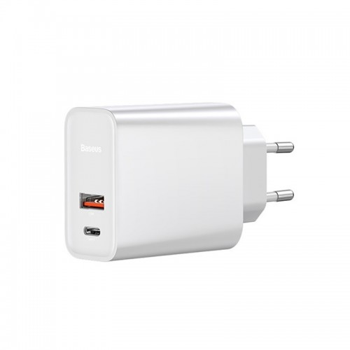 Φορτιστής Baseus Speed PPS Quick Charger USB+Type C CCFS-C02 (Άσπρο)