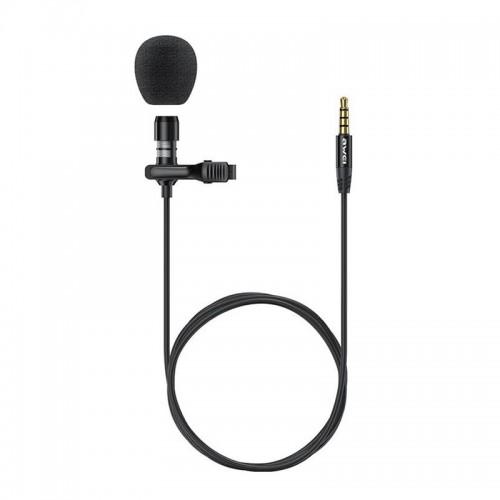 Ενσύρματο Μικρόφωνο με Κλιπ Awei MK1 Jack 3.5mm (Μαύρο)