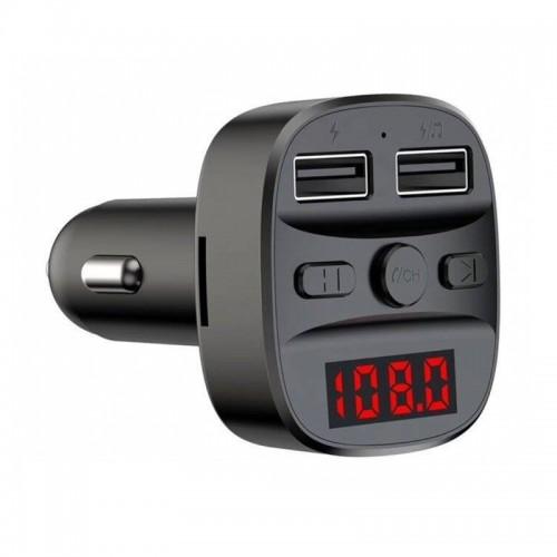 Φορτιστής Αυτοκινήτου Earldom ET-M47 Bluetooth FM Transmitter MP3 (Μαύρο)